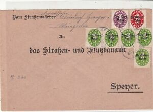 Germany 1921  Officials Stamps Cover ref 22959