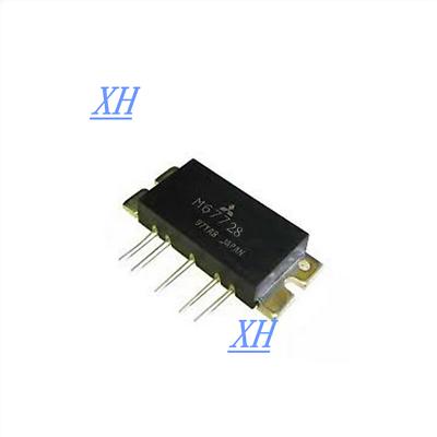 M67728 MITSUBISHI SSB MOBILE RADIO POWER MODULE 430-450MHz,12.5V,55W