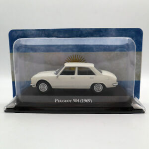 IXO-Altaya-1-43-Peugeot-504-1969-Diecast-Models-Limited-Edition-Collection-Car