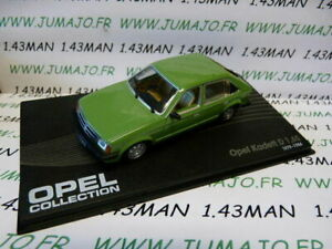 OPE57-voiture-1-43-IXO-eagle-moss-OPEL-collection-n-60-KADETT-D-1-6S-1979-1984