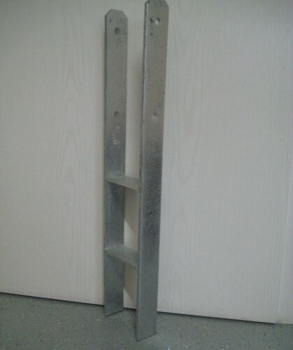 H-Anker für 140mm Pfosten Ma.-Stärke 10 mm Pfostenträge H-Träger Carport Zaun