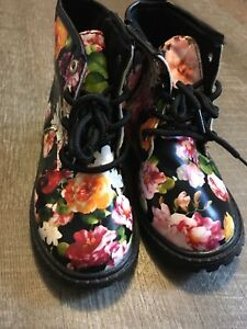 Girls Floral Kids Shoes Baby Fashion