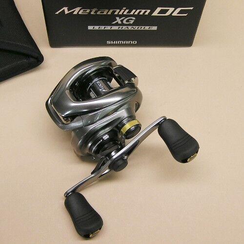 Shimano metanium DC 101XG bajo perfil Cocherete Giratorio pescado 8.5  1 metdc 101XG izquierda