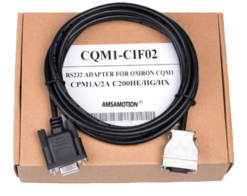 1PC New Omron PLC CQM1-CIF02 Programming Interface RS232 Cable