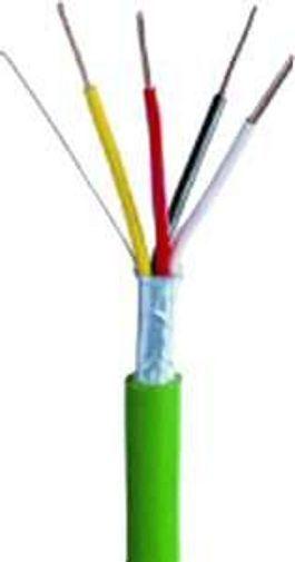 500m. KNX EIB BUSLEITUNG EIB-Y(ST)Y 2X2X0,8 grün Kabel InsGrößetion,   m.
