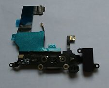 OEM GENUINE Black Headphone Audio Dock Charging USB Port Flex for iPhone 5 5G