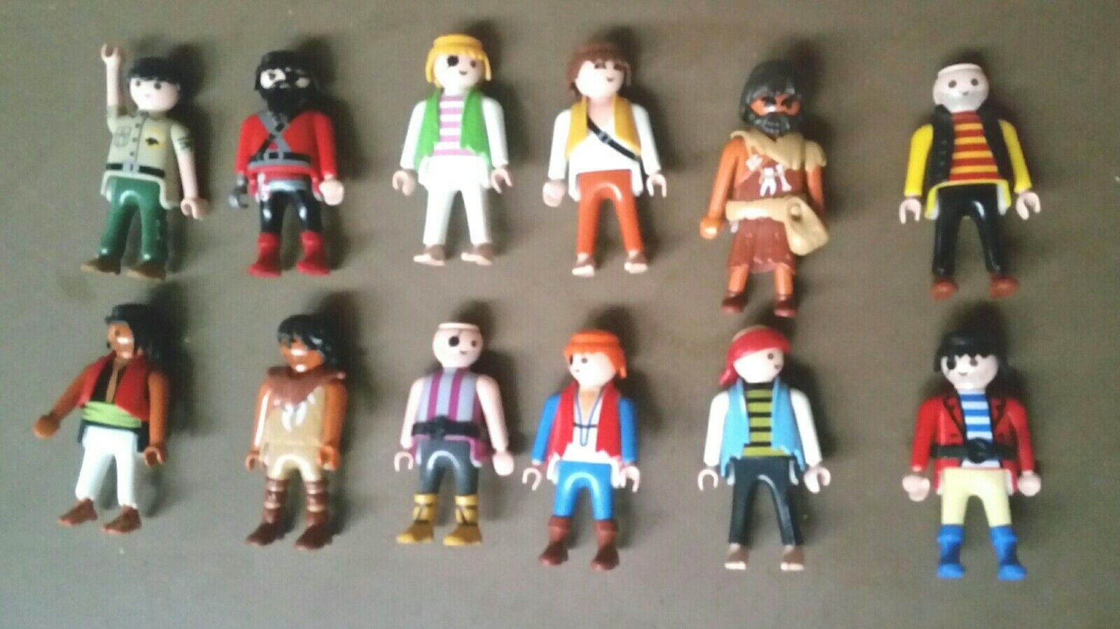 160+ Playmobil Pirate Lot de pièces et les pirates 1991 1998 2002 2003 2010