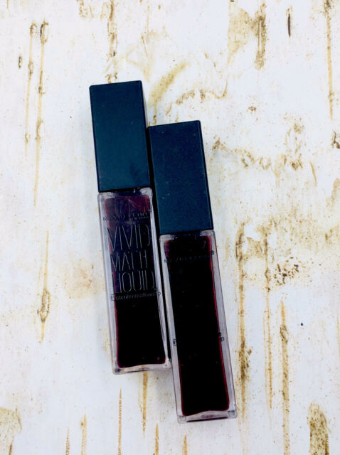 2x Maybelline Vivid Matte Liquid Lip Gloss #39 Corrupt Cranberry, 0.26 oz Each