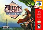 Aidyn Chronicles: The First Mage (Nintendo 64, 2001)