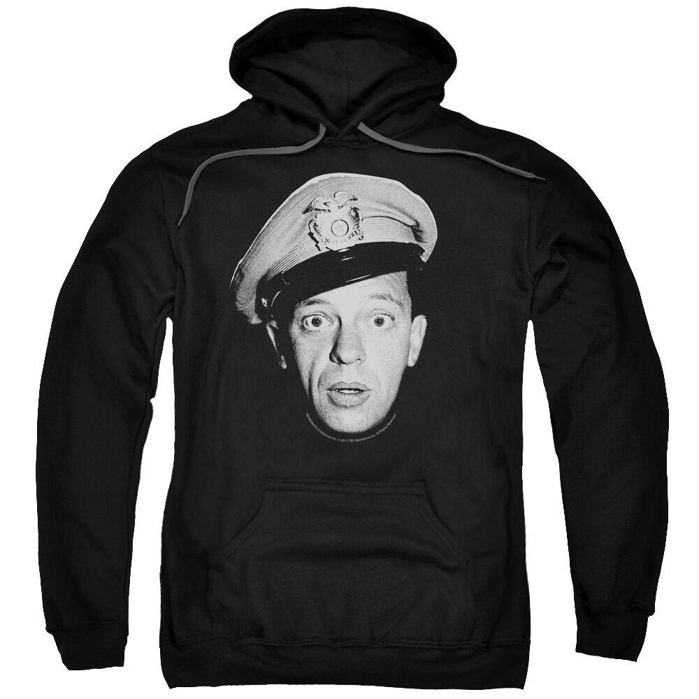 Andy Griffith Show Big BARNEY HEAD Licensed Sweatshirt Hoodie