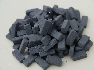 1000 1:12th Scale Miniature Dolls House Briquettes Briquette Bricks BULK BUY