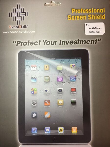 2 Per Pkg. Tablet Screen Shield, Protector, Motorola/sony/samsung/kindle Touch.