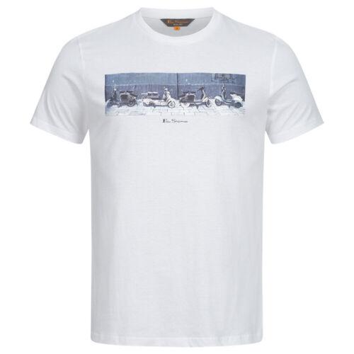 BEN SHERMAN Graphic Freizeit Herren Kurzarmshirt Oberteil Tee Tea T-Shirt neu