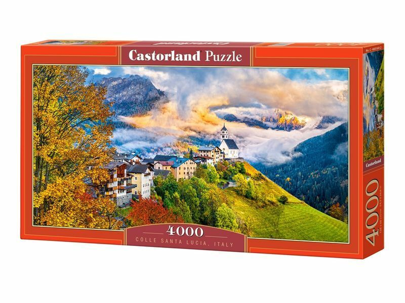 Castorland Puzzle 4000Pieces Colle Santa Lucia, Italy 54 x27  Sealed box C400164