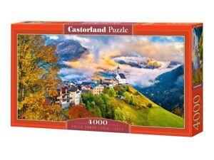 "Castorland Puzzle 4000Pieces Colle Santa Lucia, Italy 54""x27"" Sealed box C400164"