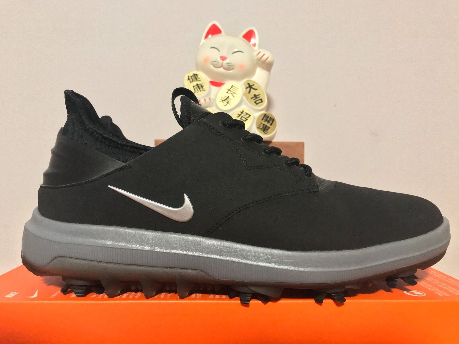 Nike Silver Air Zoom Direct Golf Shoes Black Metallic Silver Nike New Size 10 [923965-001] 89c17d