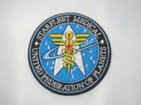 Star Trek Starfleet Medical Ufp 3.5 Sewn On/iron On Patch. Great Quality