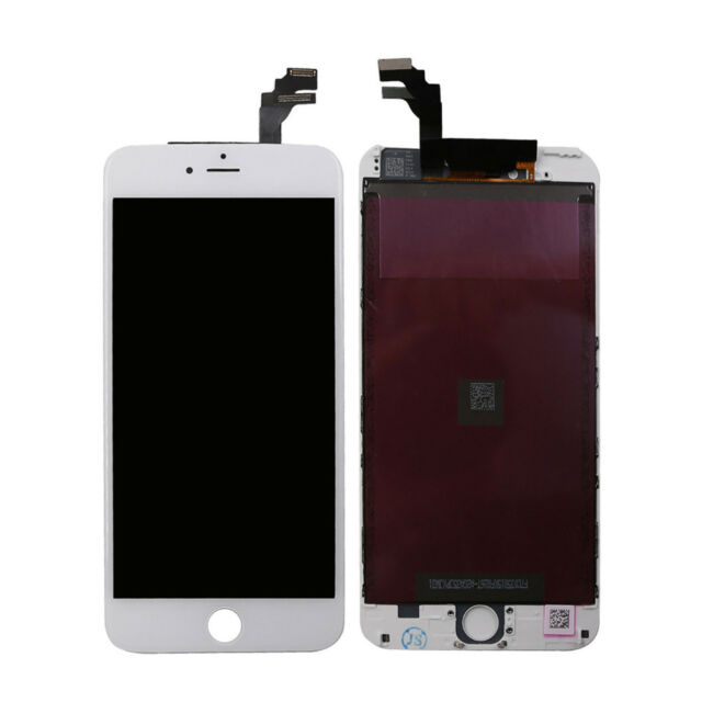 newest 8d113 78341 Recyco LCD Screen for iPhone 6 Plus Display - White Touch Digitizer Assembly