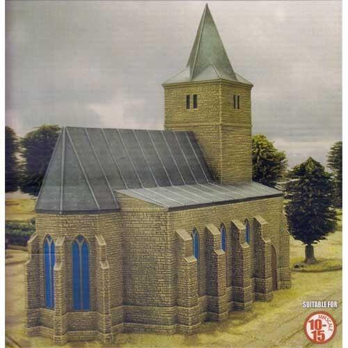 Flames of War-Bastogne Iglesia-BB150-Segunda Guerra