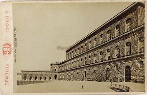 Firenze Palazzo Pitti Italia Foto Brogi PL17c2n34 Armadio Vintage Albumina