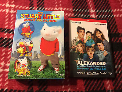 The Stuart Little Movie Collection 3 Dvds Disney Alexander Dvd Jennifer Garner 43396145412 Ebay
