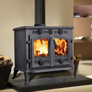 12kw Sudbrooke High Efficient Cast Iron Log Burner