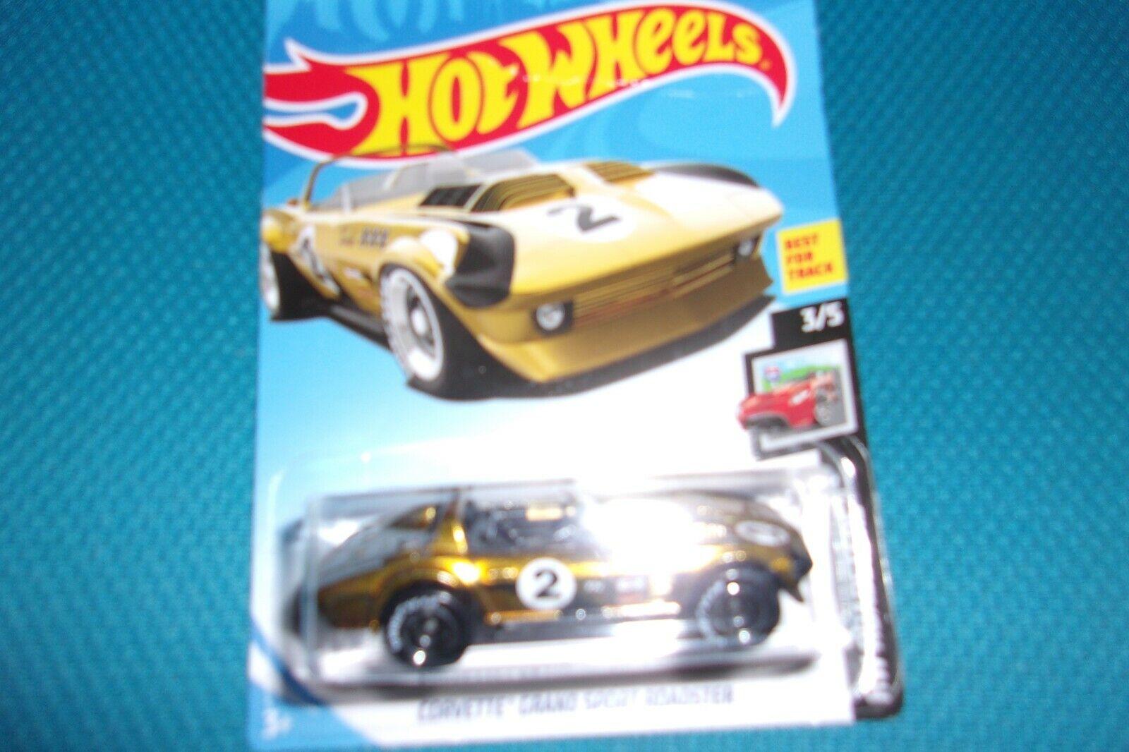 HOT WHEELS  corvette grand sport roadster super th