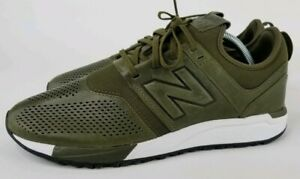 separation shoes 81611 04f95 Image is loading Men-039-s-New-Balance-247-Leather-Shoes-
