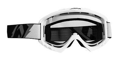 JOPA MX Brille Venom II Graphic schwarz-weiß-blau Motocross Enduro MX Cross