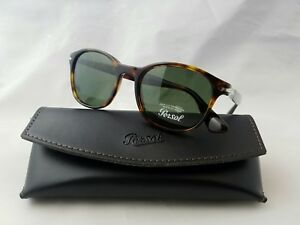 5b97201cff72a PERSOL 3150-S 24 31 HAVANA FRAME GREEN LENS SUNGLASSES HAND MADE IN ...