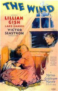 The-Wind-1928-Lillian-Gish-Victor-Sjostrom-Vintage-b-w-Drama-Film-DVD