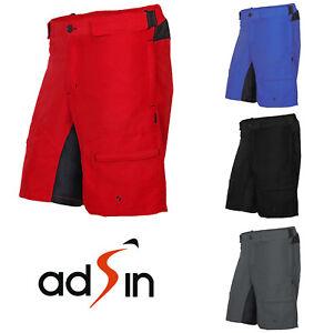 Men/'s MTB Shorts Cycling Shorts Downhill Bike Off Road Mountain Casual Biking UK