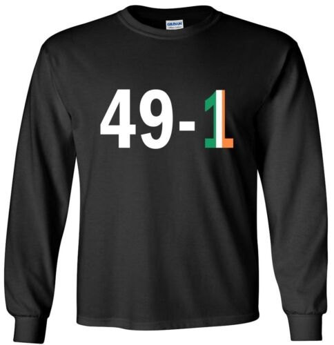 Conor Mcgregor Floyd Mayweather 49-1 Jersey T-shirt Shirt or Long Sleeve
