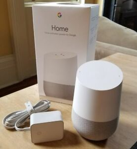 Google-Home-White-Slate-Personal-Assistant-New-amp-Sealed-Works-Worldwide