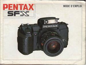 Pentax-Bedienungsanleitung-Pentax-SFX-Mode-d-emploi-su