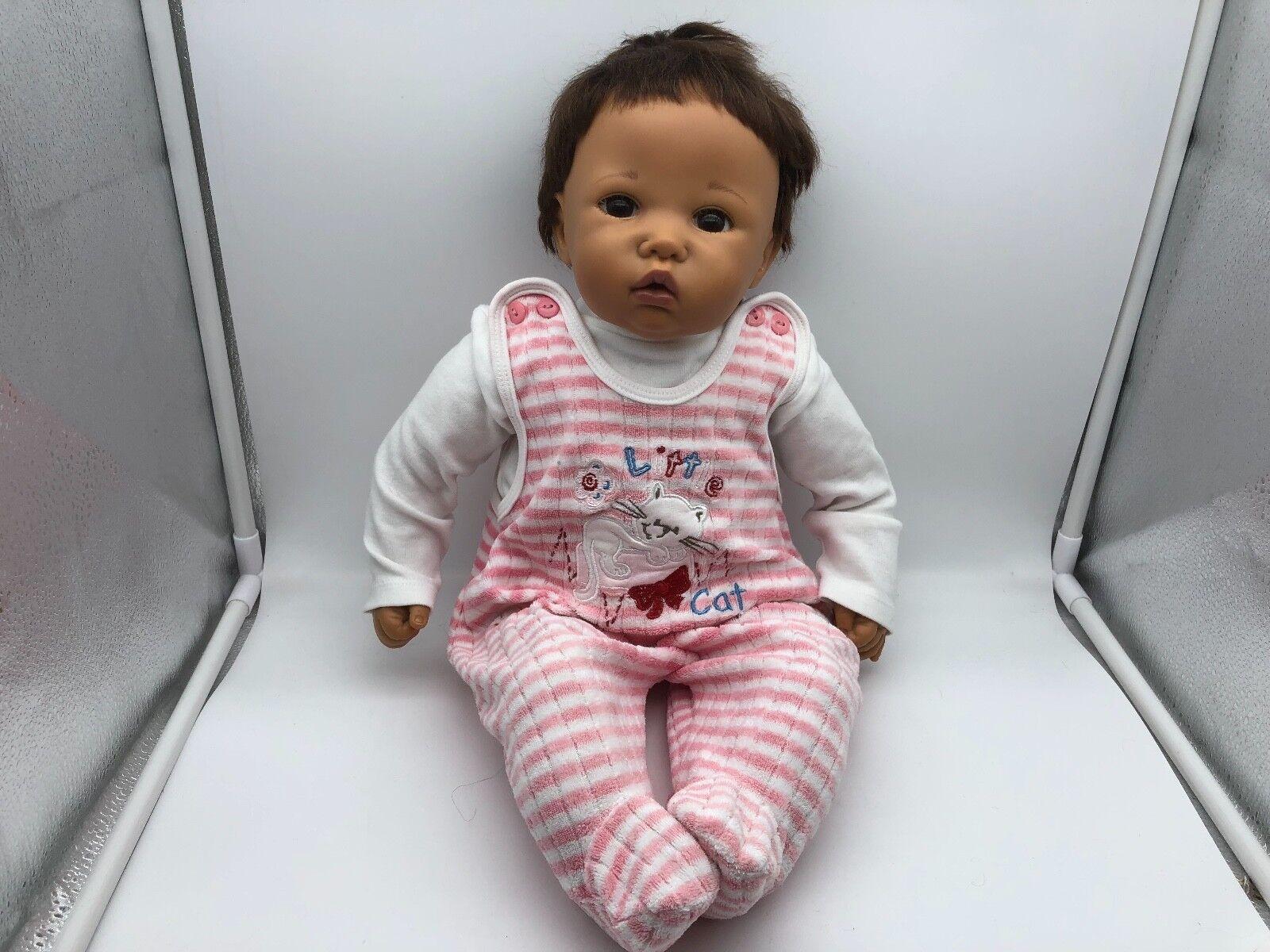 Götz artistas muñeca muñeca de vinilo 55 cm. top estado
