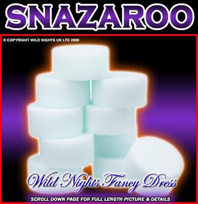 SNAZAROO FACE PAINT HIGH DENSITY SPONGES 5 PACK