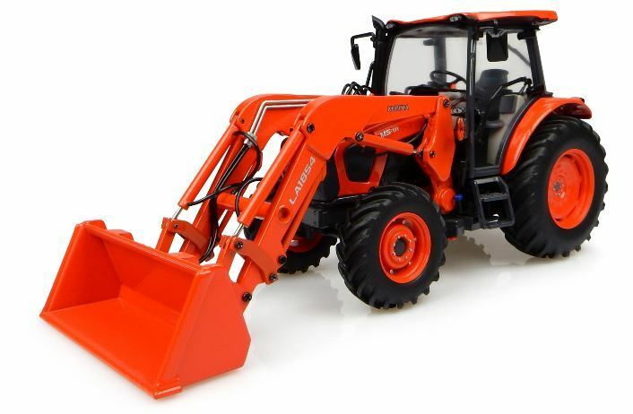 Kubota M5-111 Tractor With Front Loader 1 32 Model 4924 UNIVERSAL HOBBIES
