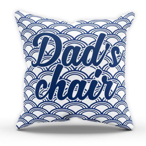 Coussin Chaise de papas Oreiller Anniversaire Cadeau Pères Jour Grandad pour femme cadeau Blague