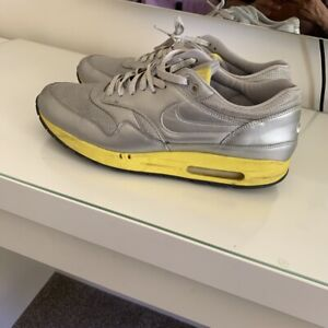 Nike Air Max 1 Premium CMYK Pack Silver