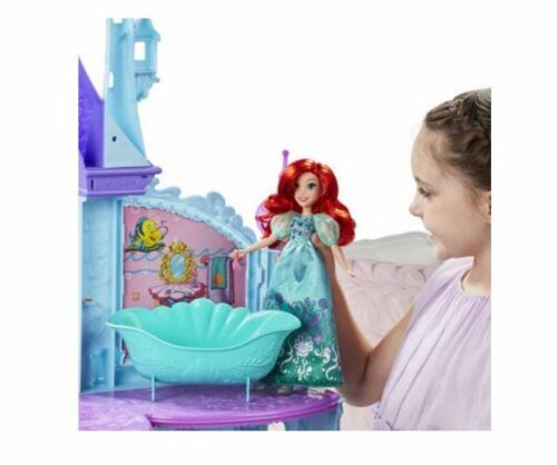 Accessories NEW Disney Princess Royal Dreams Castle Doll House w// Elevator /& 15