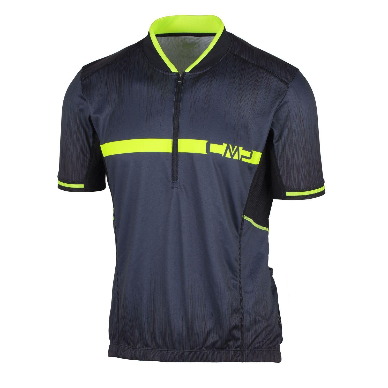 CMP Radtrikot Funktionsoberteil Shirt grey Dryfunction atmungsaktiv