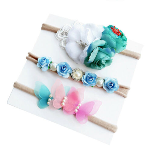 3pcs//Set Toddler Kids Baby Girls Headband Headdress Kids Hair Band Headwear New
