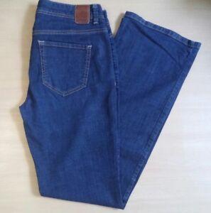 Damen-Jeans-Hose-ESPRIT-de-corp-Gr-40-W31-L34-blau-Bootcut-Stretch-Denim
