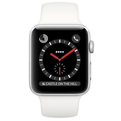 Apple Watch 3 - LTE + Cellular - 38mm - Edelstahl - MQLV2ZD/A - NEUER AUSSTELLER