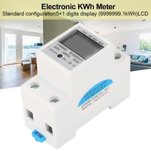 Electrique-Compteur-Monophase-Metre-kWh-Compteur-d-039-energie-220V-5-80-A-2P