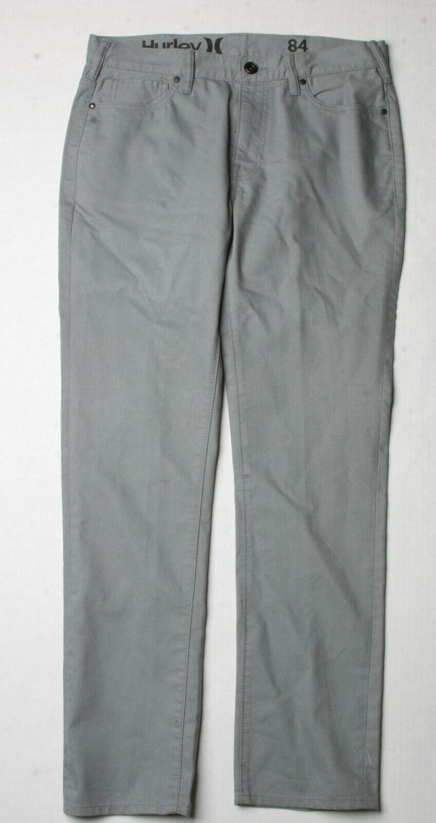Hurley 84 Slim Pant (32) Grey