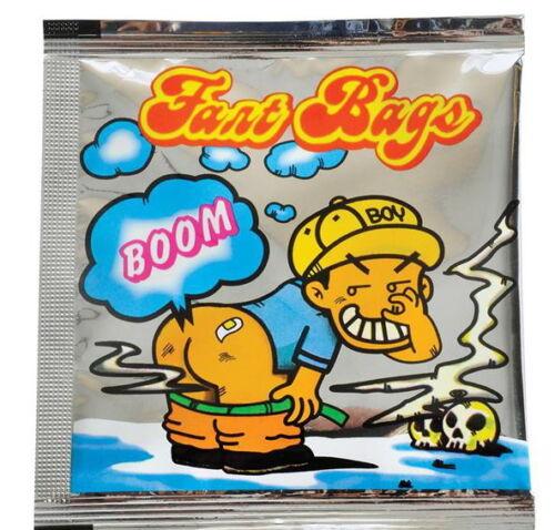 FASTEST SHIP!! 72 Stink Bombs Joke Prank Nasty Smelly Gag Fart Bags Odor Bag