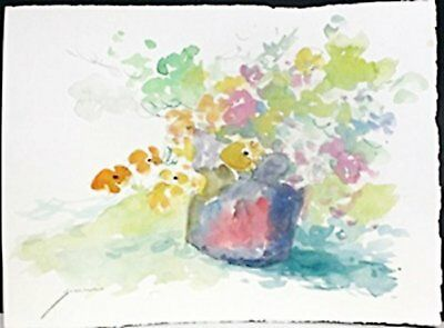 """2019 New Style Michael Schofield Hand Signed Original Watercolor """"left Behind"""""""