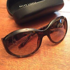 568516c130 Ralph Lauren 910 S Sunglasses Eyewear Frames Tortoise Large Sunwear ...
